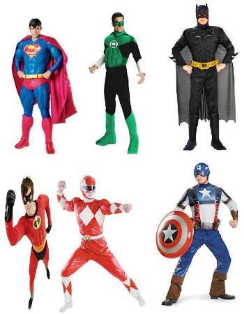 kostum superhero